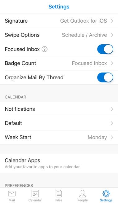 Focused Inbox