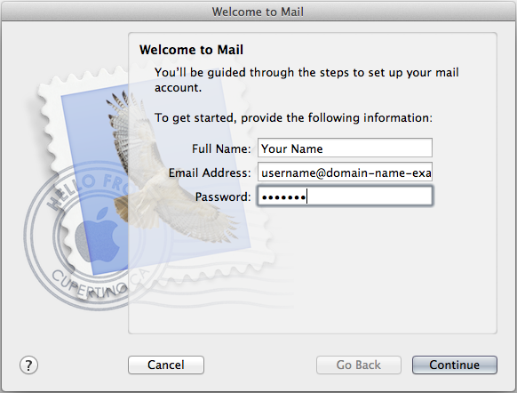 Welcome to Mail