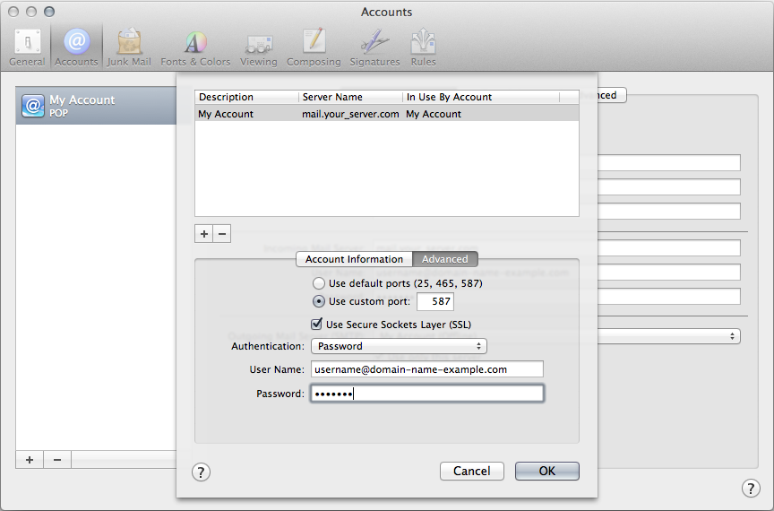 Advanced SMTP