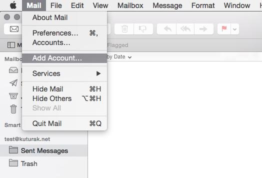 Mail - Add Account
