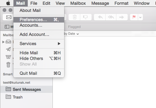 Mail - Preferences