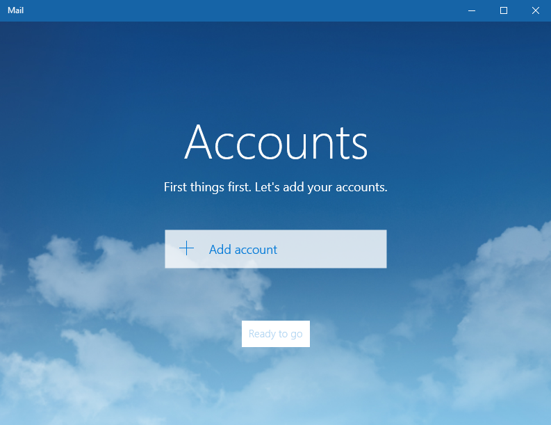 how to add a pop account to windows 10 mail